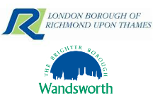 Wandsworth and Richmond Council logos